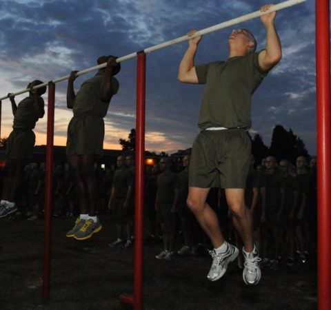 marine corps physical fitness test