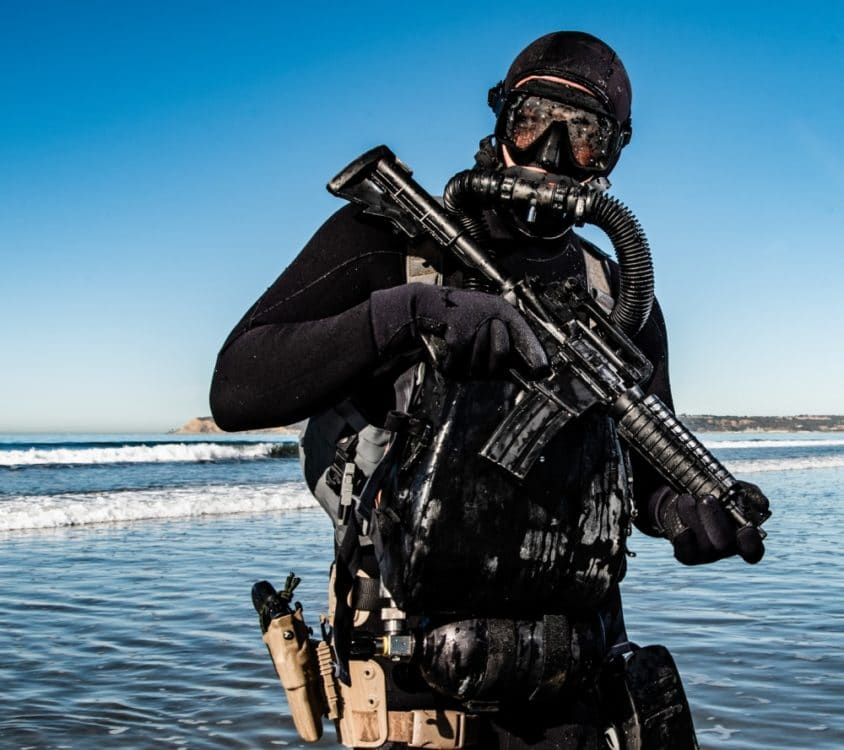 Naval Special Warfare Group ONE dive training
